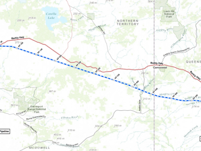 northern gas pipeline - jemena
