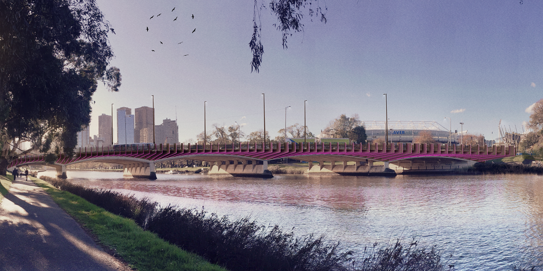 Seymour Whyte Wins 30m Swan Street Bridge Upgrade